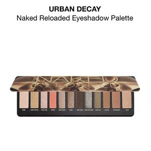 🌿 URBAN DECAY Naked Reloaded Eyeshadow Palette